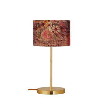 Lampe a poser persia terracotta o17 5cm h49cm ebb flow normal
