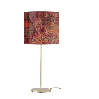 Lampe a poser persia terracotta o35cm h82cm ebb flow normal