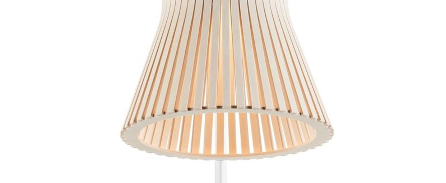 Lampe a poser petite 4620 bois bouleau led l27cm h56cm secto design normal