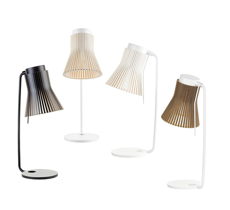Petite 4620 seppo koho lampe a poser table lamp  secto design 16 4620  design signed 42319 product