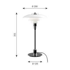 Ph 2 1 lampe de table  lampe a poser table lamp  louis poulsen 5744164278  design signed 58475 thumb
