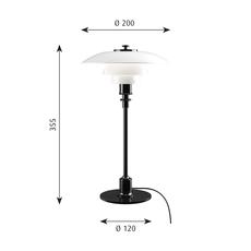 Ph 2 1 lampe de table  lampe a poser table lamp  louis poulsen 5744166153  design signed 58478 thumb