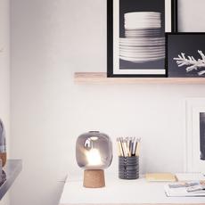 Picia enrico zanolla lampe a poser table lamp  zanolla ltpcs23sc  design signed 55423 thumb