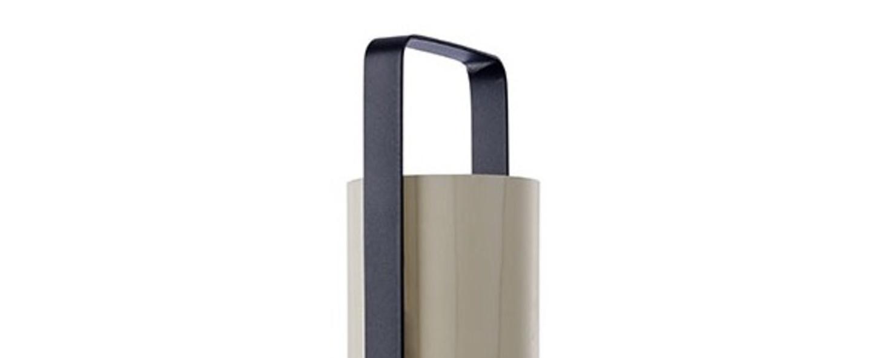 Lampe a poser piknik m blanc ivoire led h37cm l9 5cm lzf normal
