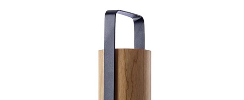 Lampe a poser piknik m cerise naturelle led h37cm l9 5cm lzf normal