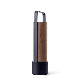 Lampe a poser piknik m chocolat led h37cm l9 5cm lzf normal