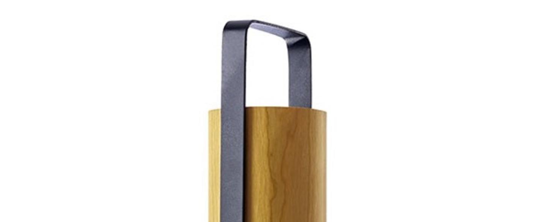 Lampe a poser piknik m jaune led h37cm l9 5cm lzf normal