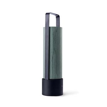 Lampe a poser piknik m turquoise led h37cm l9 5cm lzf normal