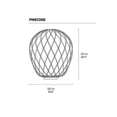 Pinecone paola nanove fontanaarte 4340bi luminaire lighting design signed 24569 thumb