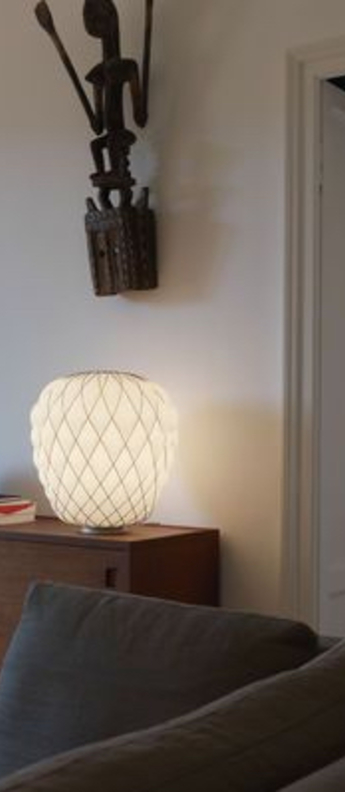 Lampe a poser pinecone or o50cm h52cm fontana arte normal