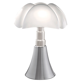 Lampe a poser pipistrello led aluminium h86cm martinelli luce normal