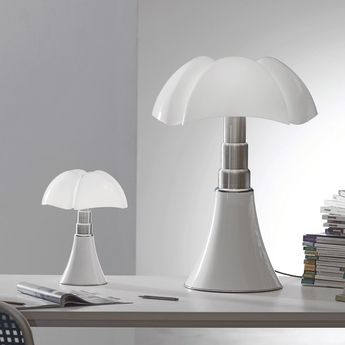 Lampe a poser pipistrello led blanc h86cm martinelli luce normal