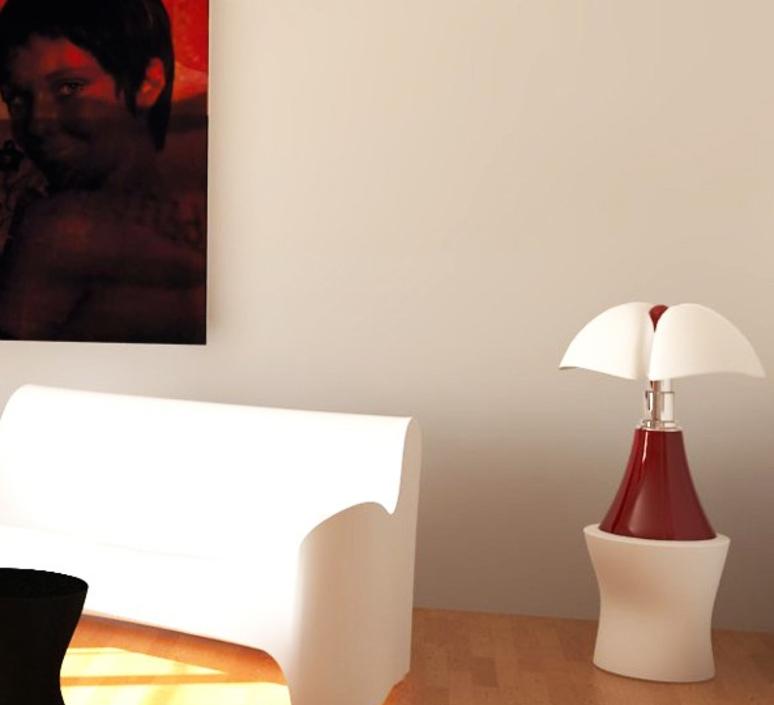 Pipistrello gae aulenti martinelli luce 620 l 1 ro luminaire lighting design signed 15687 product