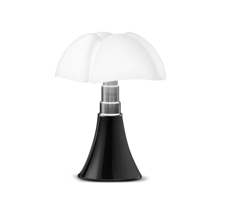 lampe poser pipistrello noir brillant h86cm. Black Bedroom Furniture Sets. Home Design Ideas