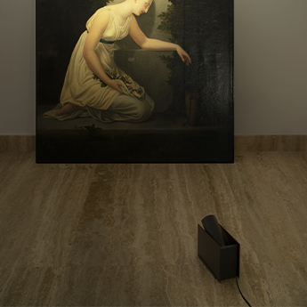 Lampe a poser plint noir led 2700k 900lm l18 7cm h12 7cm nemo lighting normal