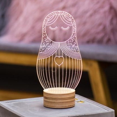 Poupee russe  lampe a poser table lamp  studio cheha 1640 pr  design signed nedgis 75255 thumb