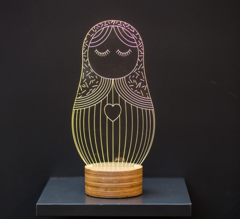 Poupee russe  lampe a poser table lamp  studio cheha 1640 pr  design signed nedgis 75256 product