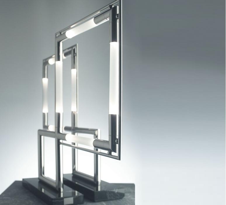 Quadro jacques adnet lumen center italia quadl160 luminaire lighting design signed 14649 product