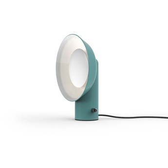 Lampe a poser reverb bleu h40cm led zava normal