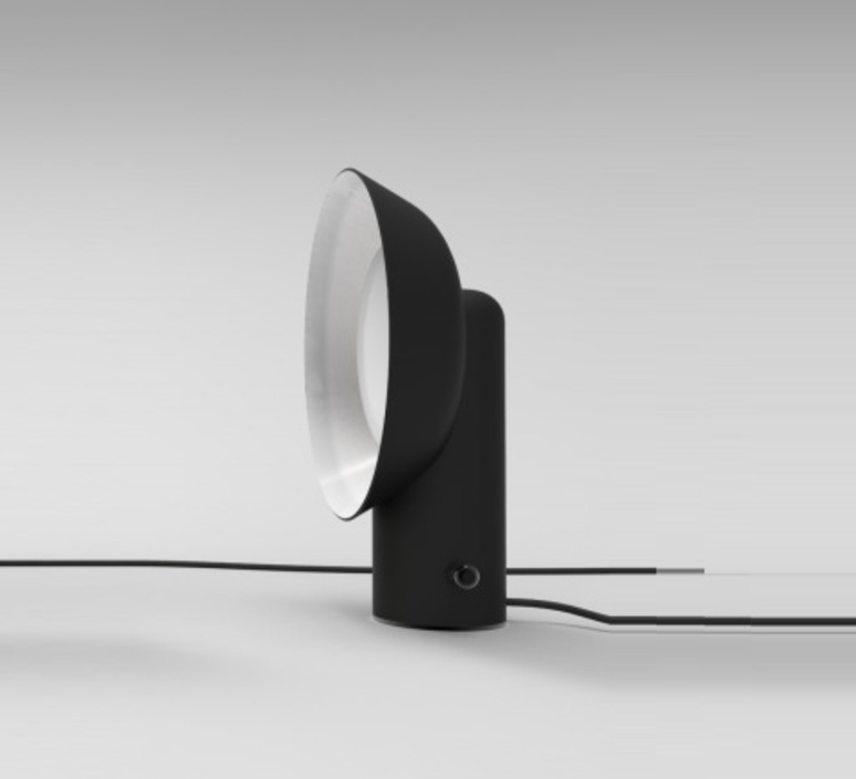 Reverb alessandro zambelli zava reverb lampe black 9005 luminaire lighting design signed 17536 product
