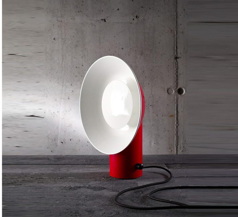 Reverb alessandro zambelli zava reverb lampe carmine red 3002 luminaire lighting design signed 17498 product
