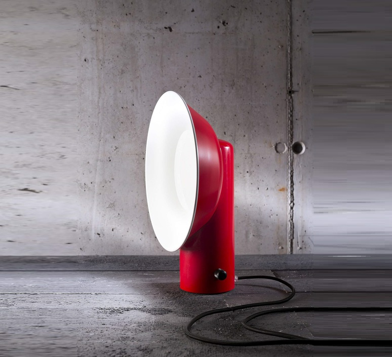 Reverb alessandro zambelli zava reverb lampe carmine red 3002 luminaire lighting design signed 17499 product