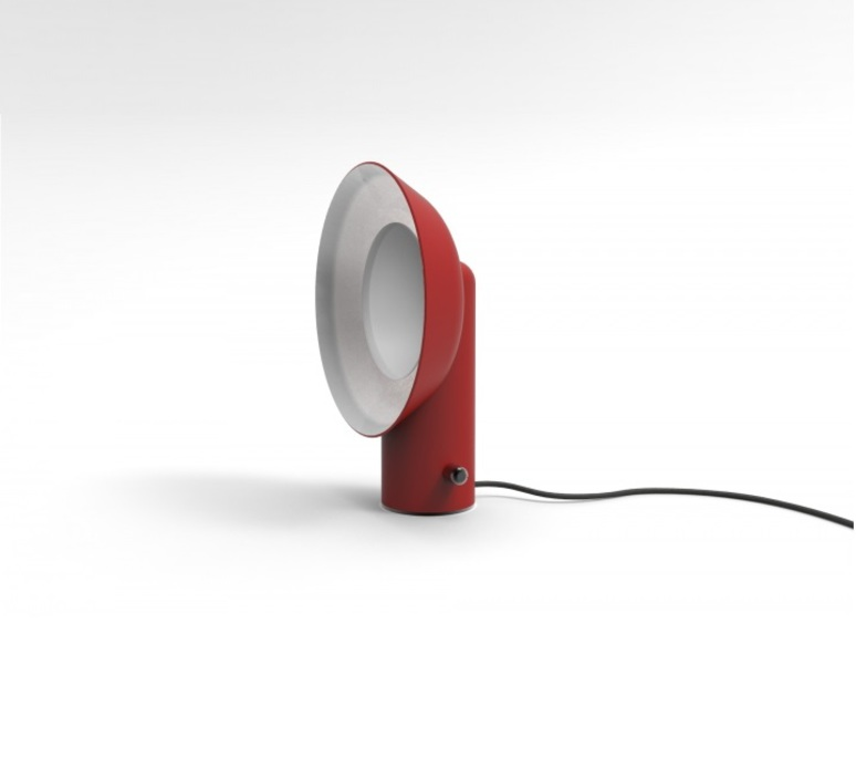 Reverb alessandro zambelli zava reverb lampe carmine red 3002 luminaire lighting design signed 17500 product