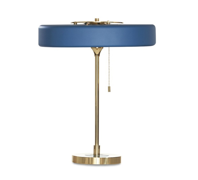 Revolve  lampe a poser table lamp  bert frank revolve table lamp blue  design signed 36037 product