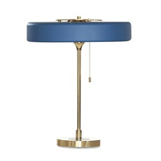 Revolve  lampe a poser table lamp  bert frank revolve table lamp blue  design signed 36037 thumb