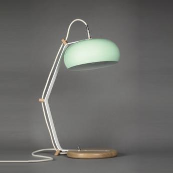Lampe a poser rhoda tbl vert celadon blanc h63cm lampari normal