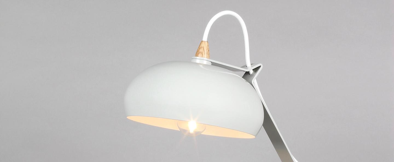 Lampe a poser rhoda tbs gris h43cm lampari normal