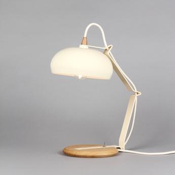 Lampe a poser rhoda tbs ivoire h43cm lampari normal