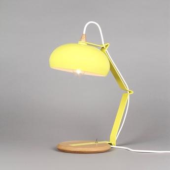 Lampe a poser rhoda tbs jaune h43cm lampari normal