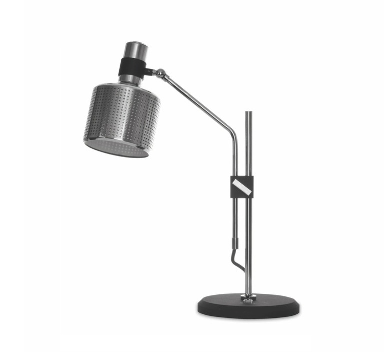Riddle  lampe a poser table lamp  bert frank riddle table lamp single chrome black  design signed 36079 product