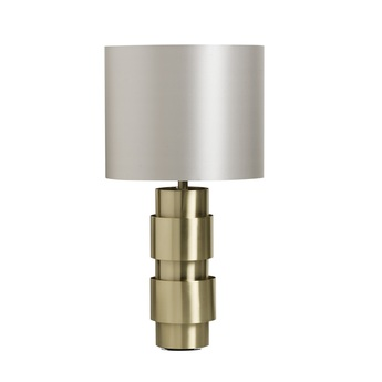 Lampe a poser ring gris colombe o30cm h64cm cto lighting 69e68e90 3163 4095 918b be0dd6304159 normal