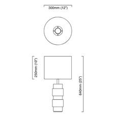 Ring chris et clare turner lampe a poser table lamp  cto lighting cto 03 070 0001  design signed nedgis 63919 thumb
