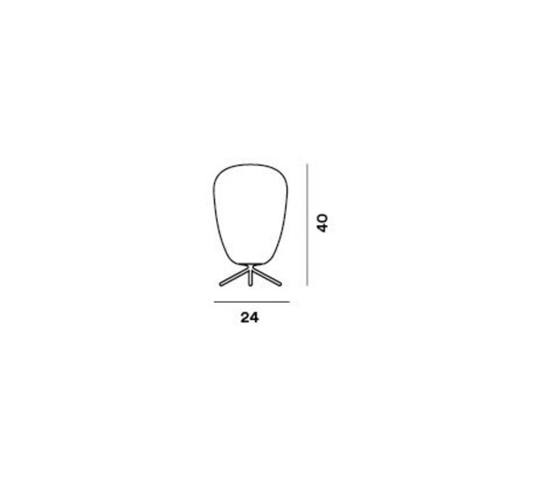 Rituals 1 ludovica roberto palomba lampe a poser table lamp  foscarini 244001110  design signed nedgis 85332 product