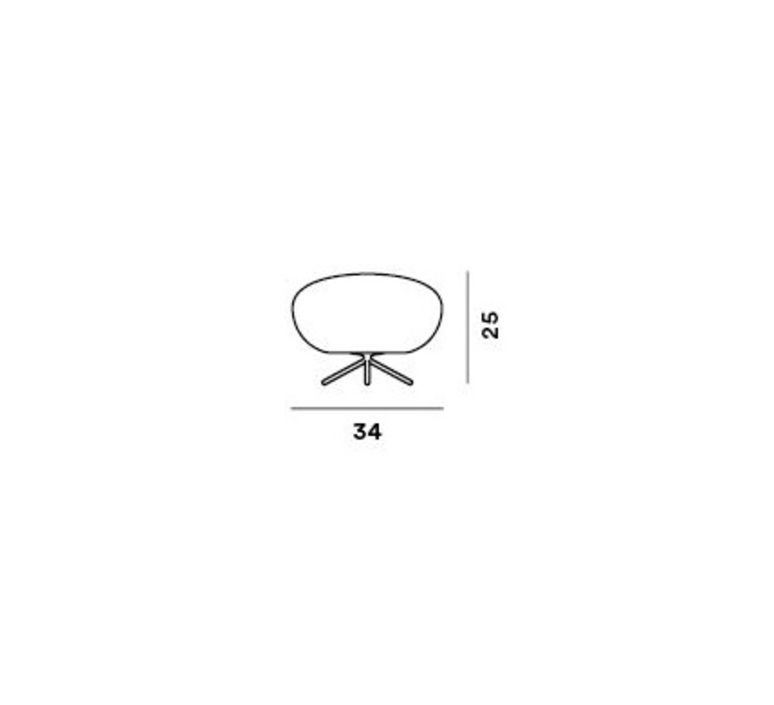 Rituals 2 ludovica roberto palomba lampe a poser table lamp  foscarini 244001210  design signed nedgis 85340 product