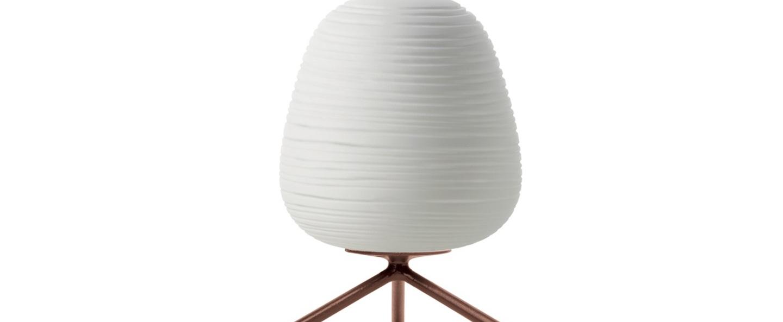 Lampe a poser rituals 3 blanc o20cm h27cm foscarini normal