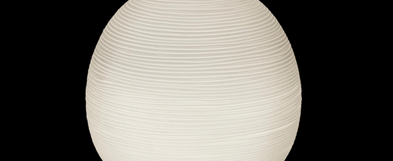 Lampe a poser rituals xl blanc o40cm h41cm foscarini normal