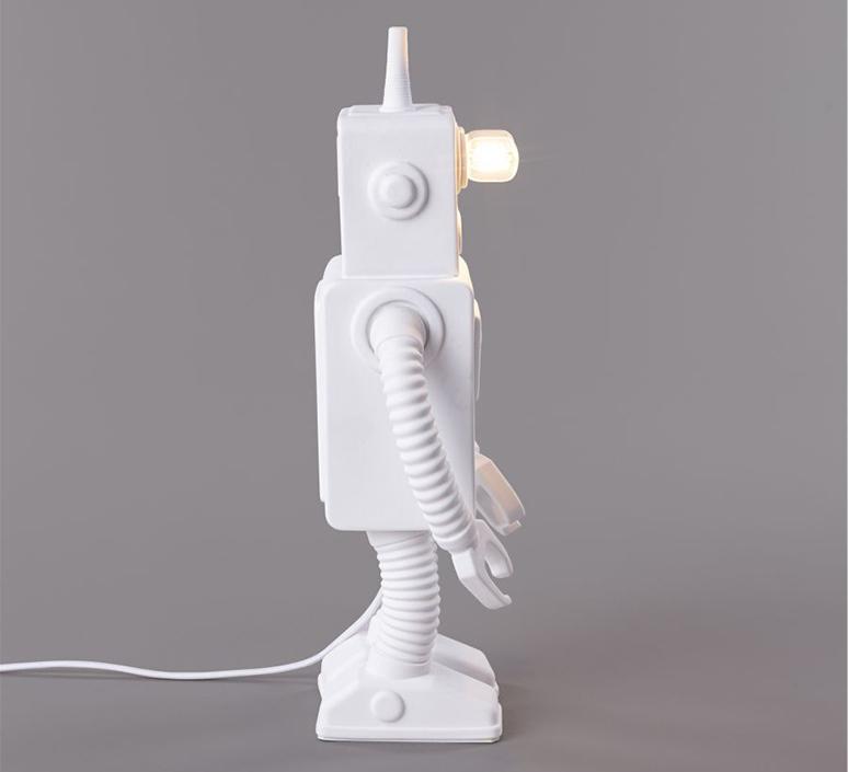Robot lamp marcantonio raimondi malerba lampe a poser table lamp  seletti 14710  design signed nedgis 97940 product
