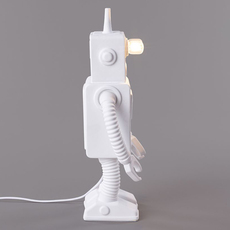 Robot lamp marcantonio raimondi malerba lampe a poser table lamp  seletti 14710  design signed nedgis 97940 thumb
