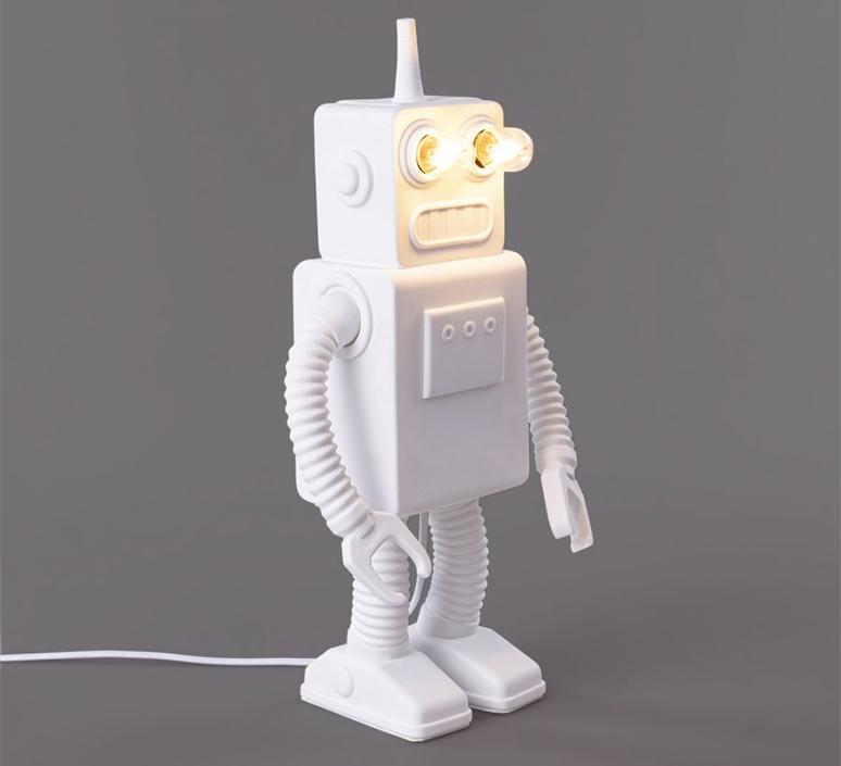 Robot lamp marcantonio raimondi malerba lampe a poser table lamp  seletti 14710  design signed nedgis 97941 product