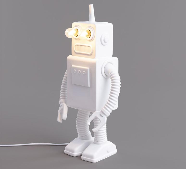 Robot lamp marcantonio raimondi malerba lampe a poser table lamp  seletti 14710  design signed nedgis 97943 product