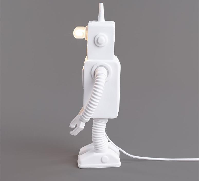 Robot lamp marcantonio raimondi malerba lampe a poser table lamp  seletti 14710  design signed nedgis 97944 product