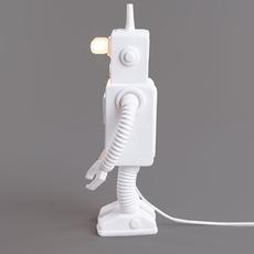 Robot lamp marcantonio raimondi malerba lampe a poser table lamp  seletti 14710  design signed nedgis 97944 thumb