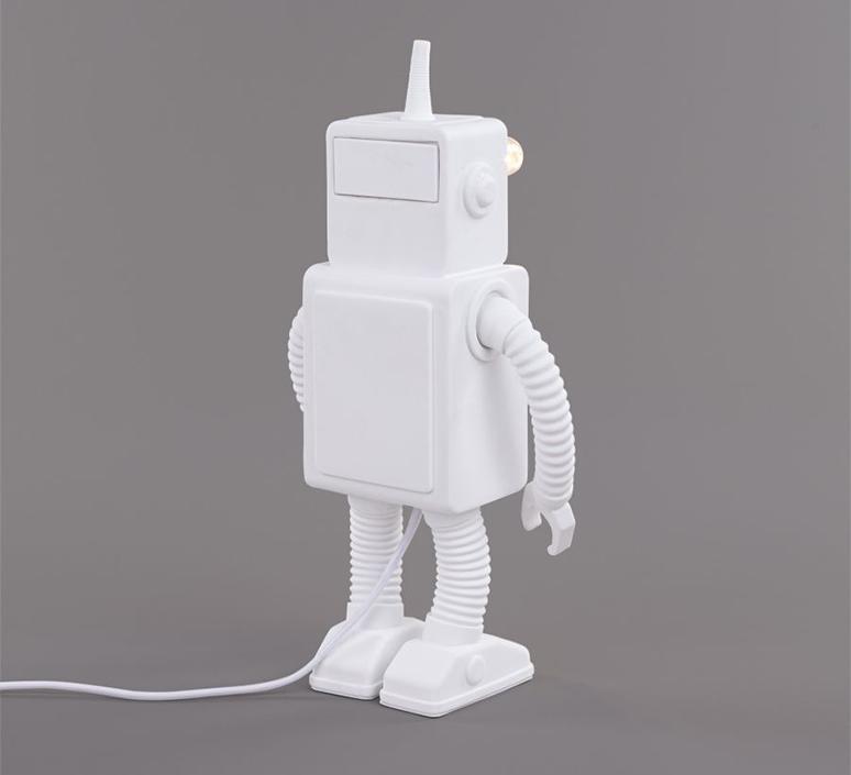 Robot lamp marcantonio raimondi malerba lampe a poser table lamp  seletti 14710  design signed nedgis 97945 product
