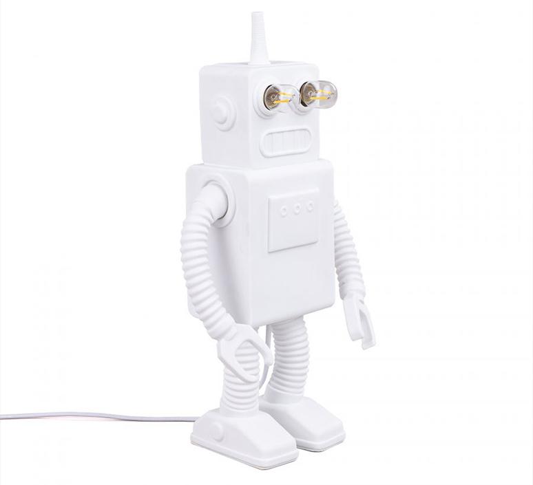 Robot lamp marcantonio raimondi malerba lampe a poser table lamp  seletti 14710  design signed nedgis 97947 product