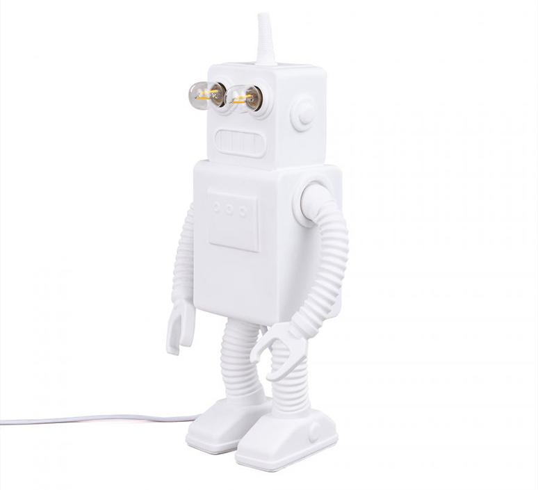 Robot lamp marcantonio raimondi malerba lampe a poser table lamp  seletti 14710  design signed nedgis 97949 product