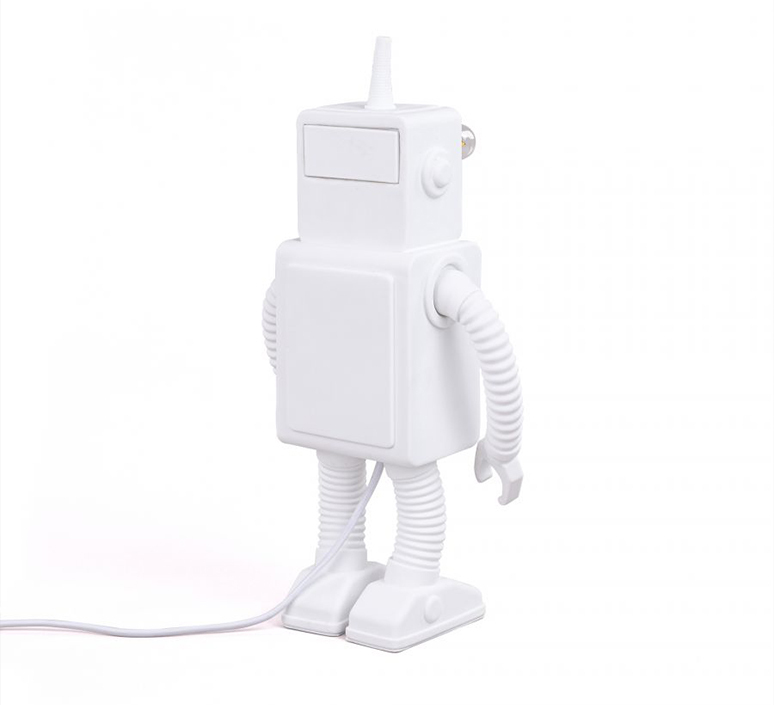 Robot lamp marcantonio raimondi malerba lampe a poser table lamp  seletti 14710  design signed nedgis 97951 product